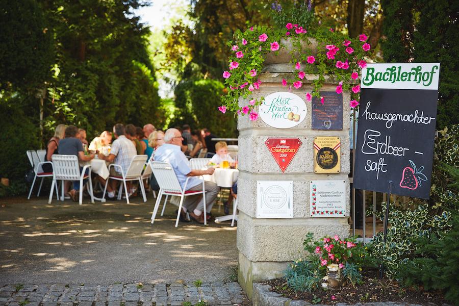 Bachlerhof-Gastgarten